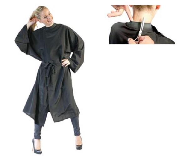 DHBS Kimono Cape with rubber stud closure