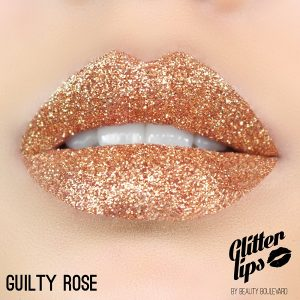 Glitter Lips Guilty Rose