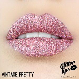 Glitter Lips Vintage Pretty